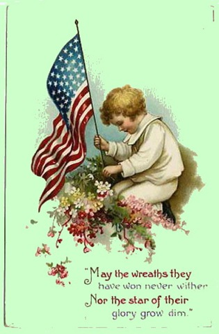 Vintage-american-flag-little-boy-memorial-day1