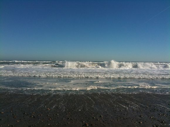 Beach morning, November
