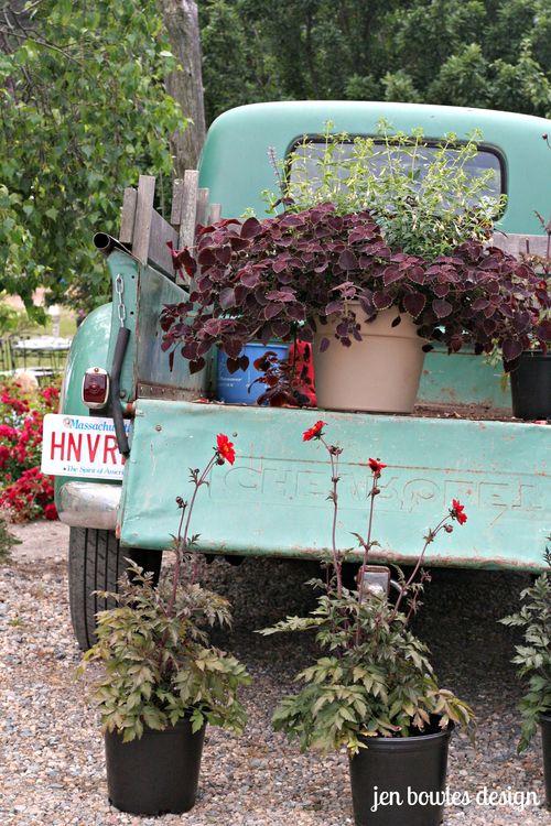 Vintage Truck bed