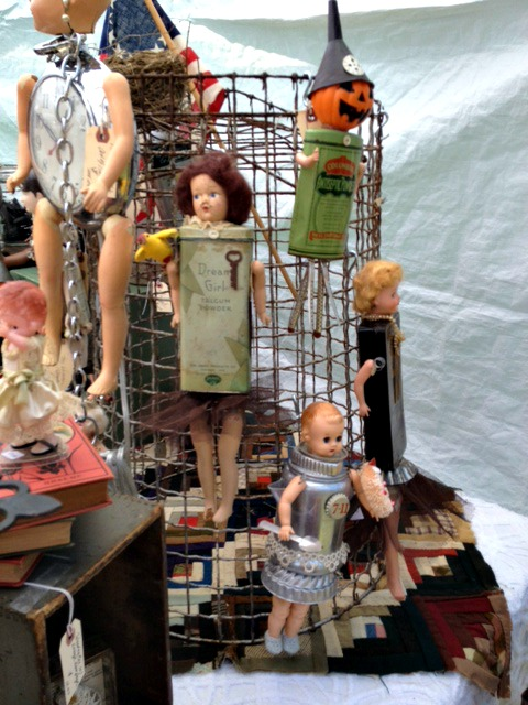 Assemblage Dolls
