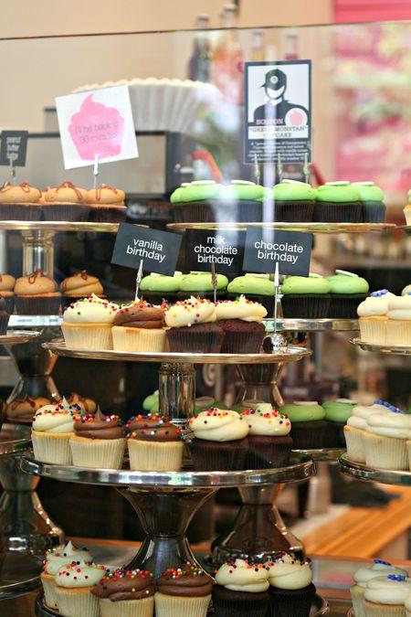 Cupcake Crawl Georgetown display