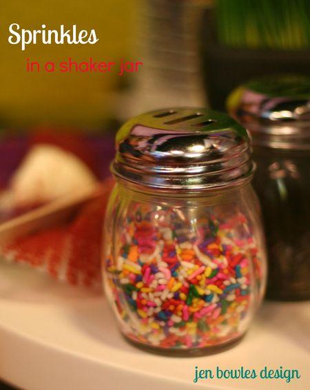 Cupcake Crawl Cakeology sprinkle jar