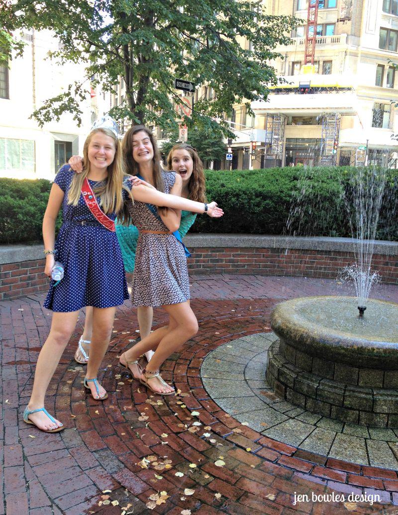 Cupcake Crawl fountain