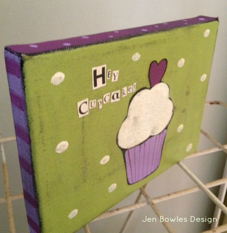 PurpleCupcakeFrontSide
