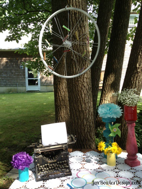 Wish wheel table