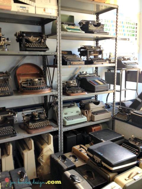 Vintage typewriter heaven at Cambridge Tyepwriter