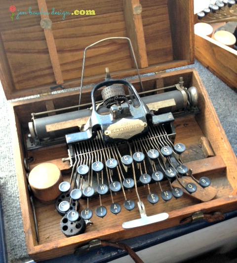 Vintage Blickensderfer typewriter