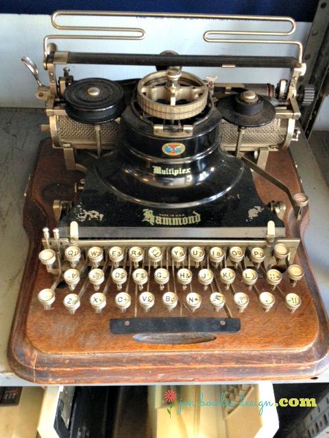 Vintage Hammond Multiplex typewriter