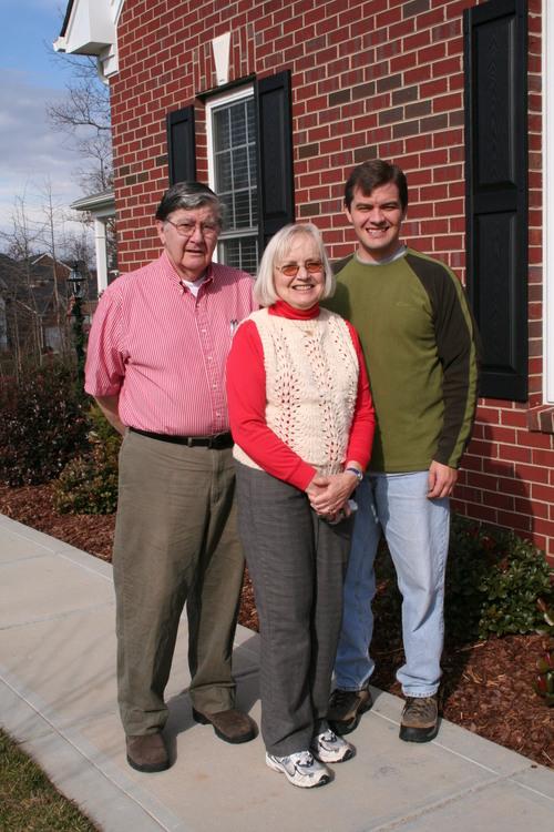 Grandpa, Nana, & Uncle Steven